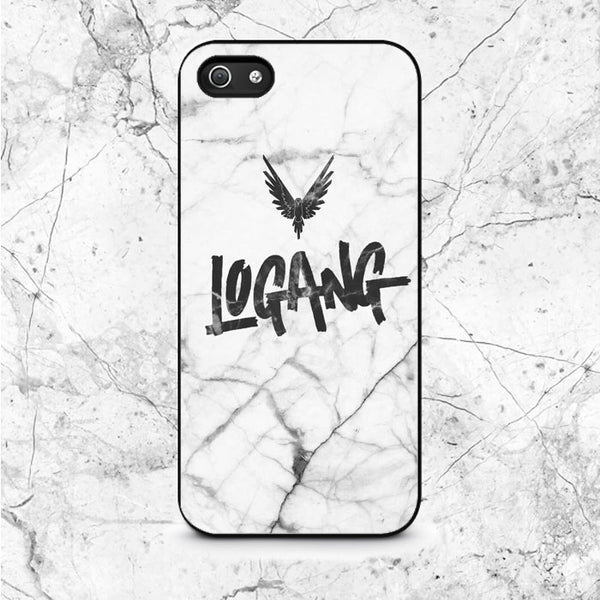 Black White Marble Logang Maverick iPhone 5|5S|SE Case