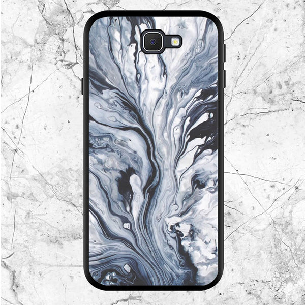 Black White Marble Wallpaper Samsung Galaxy J5 Prime Case | Sixtyninecase