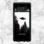 Black White X Files I Want To Believe Samsung Galaxy Note 8 Case | Sixtyninecase