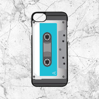 Blue Cassette Player
