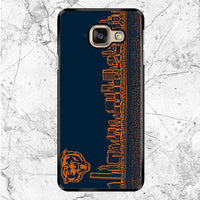 Blue Chicago Bear Samsung Galaxy A8 2017 Case