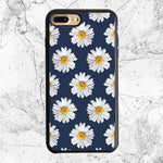 Blue Daisy Flower iPhone 8 Plus Case