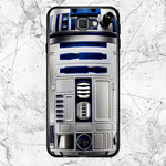 Blue R2D2 Star Wars Samsung Galaxy J7 2016 Case