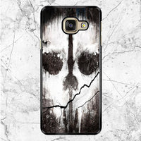 Call Of Duty Ghosts Skull Samsung Galaxy A9 Pro Case