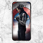 Captain America Bucky Samsung Galaxy J7 2016 Case