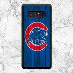 Chicago Cubs Home Baseball Wood Texture Samsung Galaxy Note 8 Case | Sixtyninecase