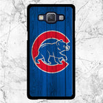 Chicago Cubs Home Baseball Wood Texture Samsung Galaxy J3 2016 Case | Sixtyninecase