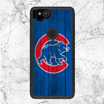 Chicago Cubs Home Baseball Wood Texture Google Pixel 2 Case | Sixtyninecase