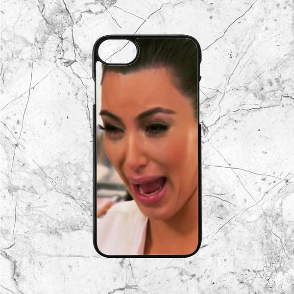 Crying Kim Kardashian Face