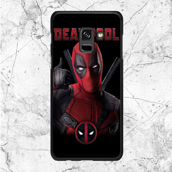 Deadpool Poster Samsung Galaxy A8 Plus 2018 Case