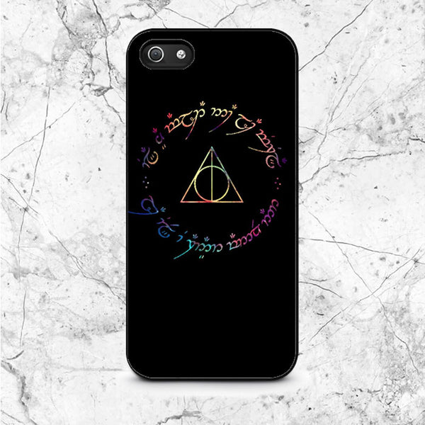 Deathly Hallows Galaxy iPhone 5|5S|SE Case