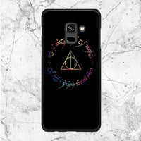 Deathly Hallows Galaxy Samsung Galaxy A8 Plus 2018 Case