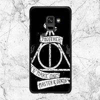 Deathly Hallows Quotes Samsung Galaxy A8 2018 Case | Sixtyninecase