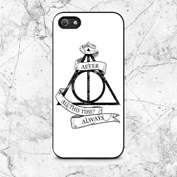 Deathly Hallows Quotes iPhone 5|5S|SE Case