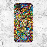 Disney All Characters Stained Glasses iPhone 5|5S|SE Case