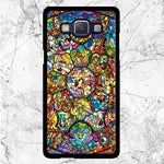 Disney All Characters Stained Glasses Samsung Galaxy J3 2016 Case