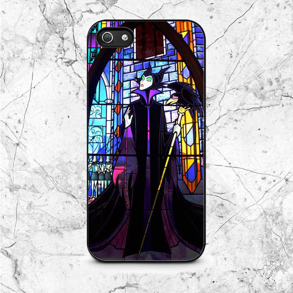 Disney Malficent Stained Glasses iPhone 5|5S|SE Case