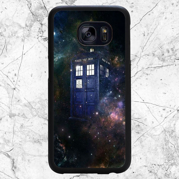 Doctor Who Tardis Galaxy Samsung Galaxy S7 Case | Sixtyninecase