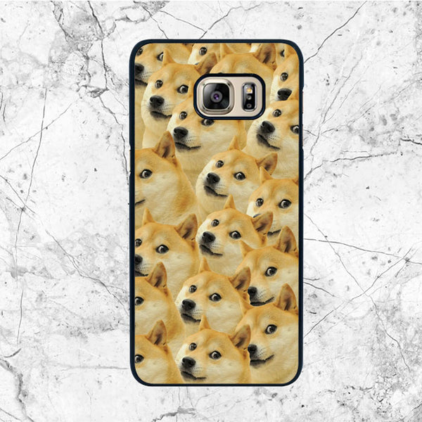 Doge Pattern Collage Samsung Galaxy S6 Edge Plus Case | Sixtyninecase