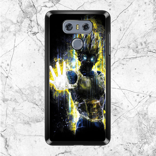 Dragon Ball Z Vegeta Bad Man Saiyan Prince LG G6 Case | Sixtyninecase