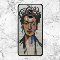 Frida Kahlo Art Samsung Galaxy A8 2018 Case