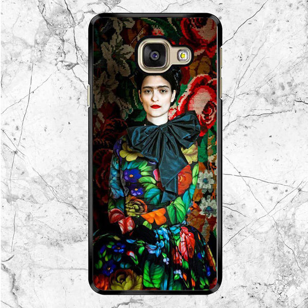 Frida Kahlo Flower Samsung Galaxy A9 Pro Case