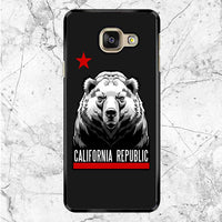 Front Bear California Republic Samsung Galaxy A8 2017 Case