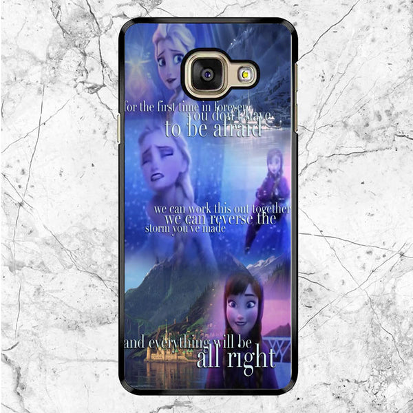 Frozen Quotes Samsung Galaxy A8 2017 Case
