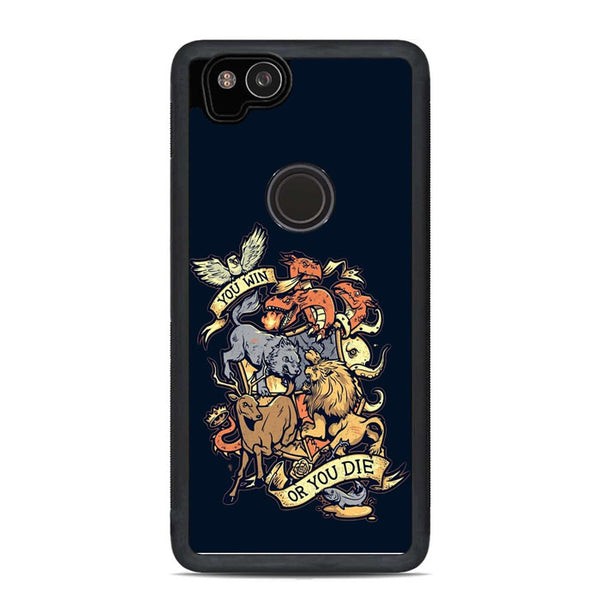 Game Of Thrones Monster Logo Clan Google Pixel 2 Case - Sixtyninecase