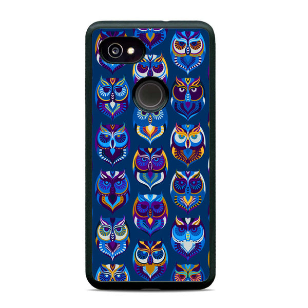 Abstract Owl Pattern Google Pixel 2 XL Case - Sixtyninecase