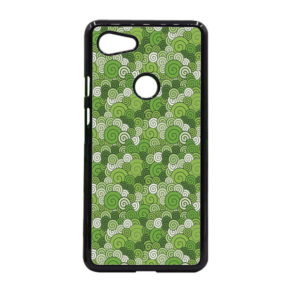 Abstract Circular Green Case Google Pixel 3 XL Case - Sixtyninecase