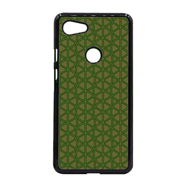 Abstract Green Lemon Google Pixel 3 XL Case - Sixtyninecase