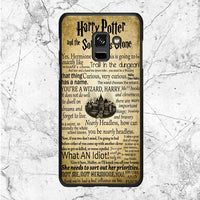 Harry Potter Quotes Samsung Galaxy A8 2018 Case