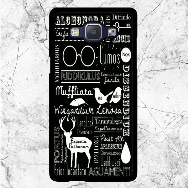 Harry Potter Spell Samsung Galaxy J3 2016 Case