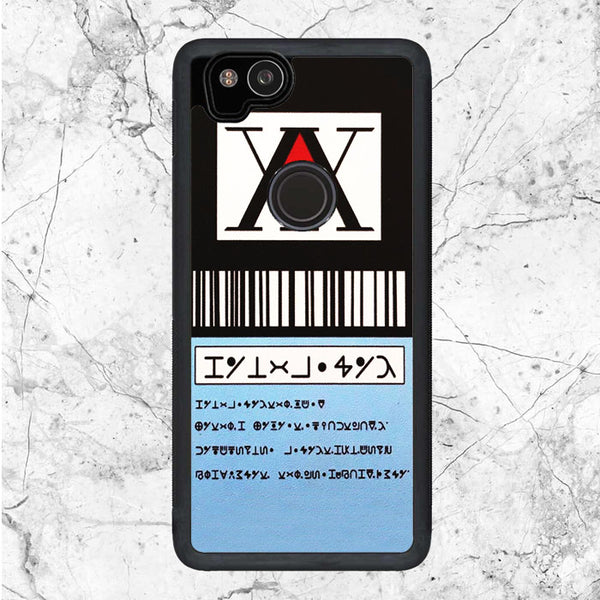 Hunter X Hunter License Card Google Pixel 2 Case | Sixtyninecase