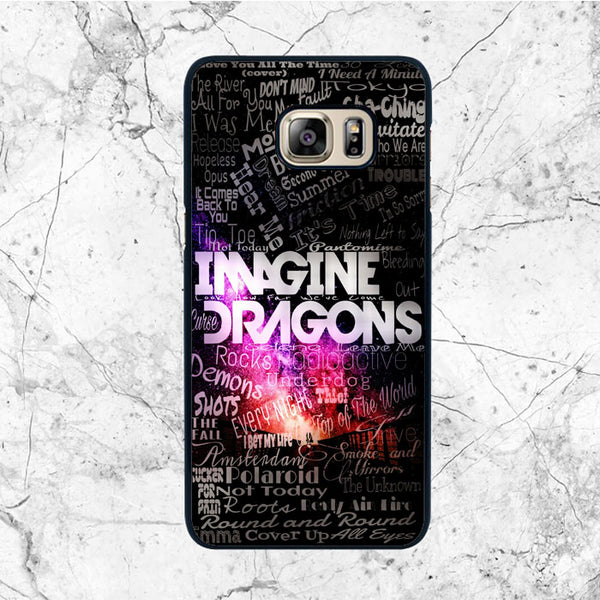 Imagine Dragons Quotes Samsung Galaxy S6 Case