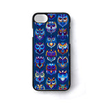 Abstract Owl Pattern iPhone 7 Case - Sixtyninecase
