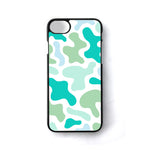 Abstract Shape Colorful Blue iPhone 7 Case - Sixtyninecase
