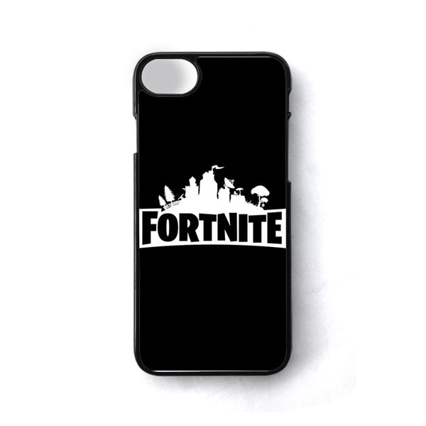 Black Fortnite Logo iPhone 7 Case - Sixtyninecase