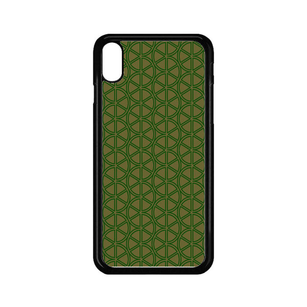 Abstract Green Lemon iPhone XS Max Case - Sixtyninecase