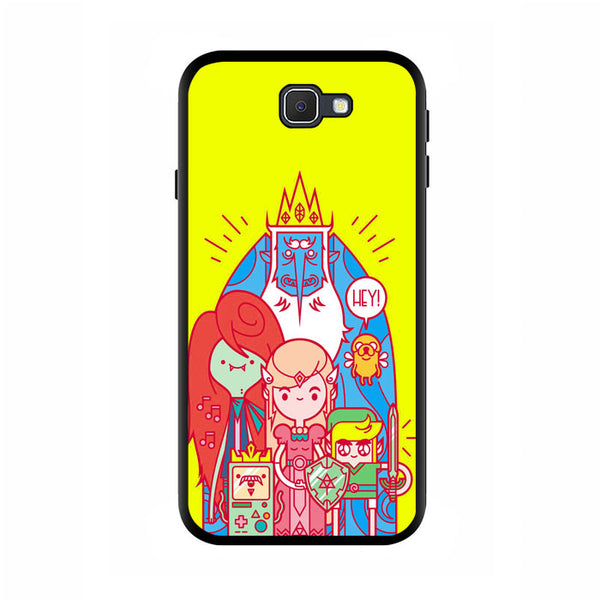 Fan Arts Adventure Time Character Samsung Galaxy J5 Prime Case - Sixtyninecase