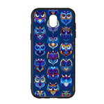 Abstract Owl Pattern Samsung Galaxy J5 2017 EURO Version Case - Sixtyninecase