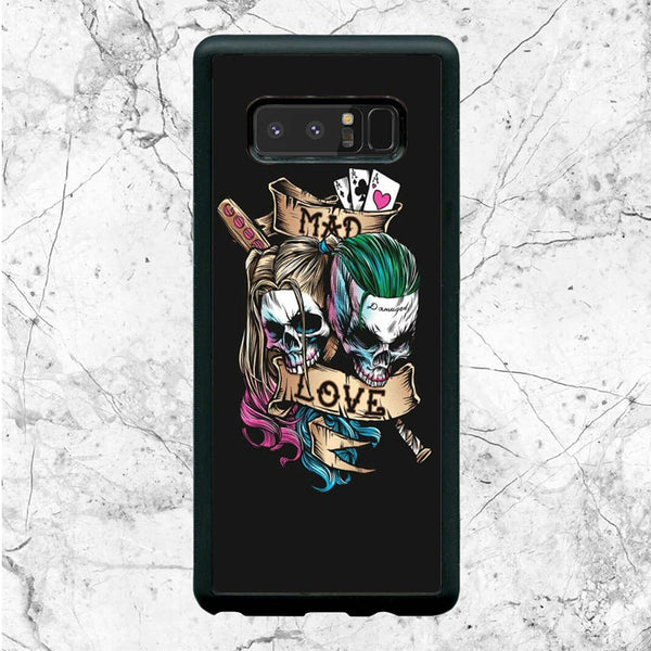 Joker Mad Love With Harley Quinn Samsung Galaxy Note 8 Case | Sixtyninecase