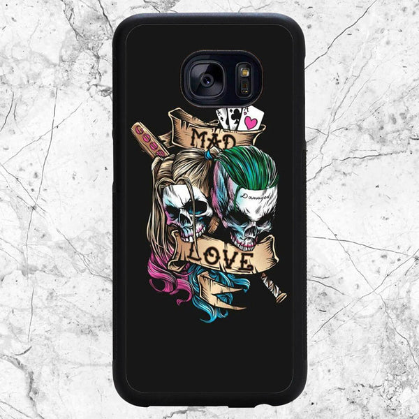 Joker Mad Love With Harley Quinn Samsung Galaxy S7 Edge Case | Sixtyninecase