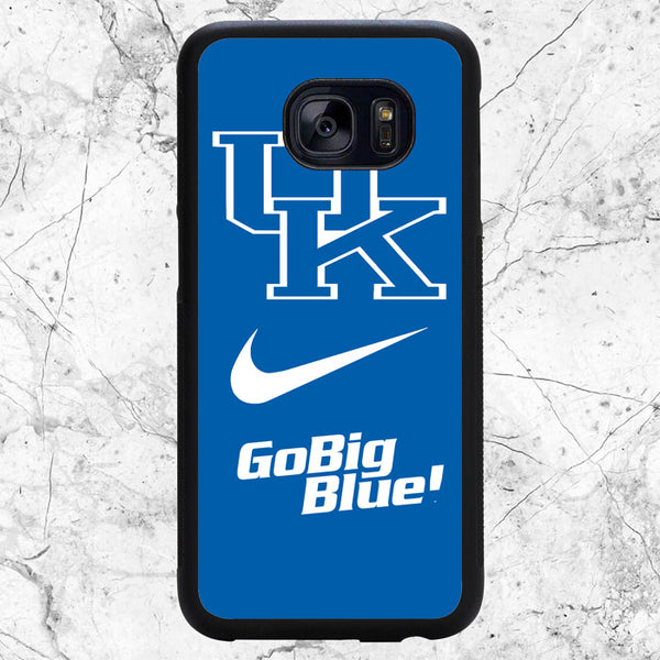 Kentucky Wildcats Blue Samsung Galaxy S7 Edge Case | Sixtyninecase