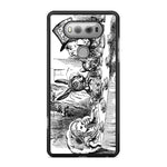 Black White Disney Alice in Wonderland Tea Party LG G6 Case - Sixtyninecase