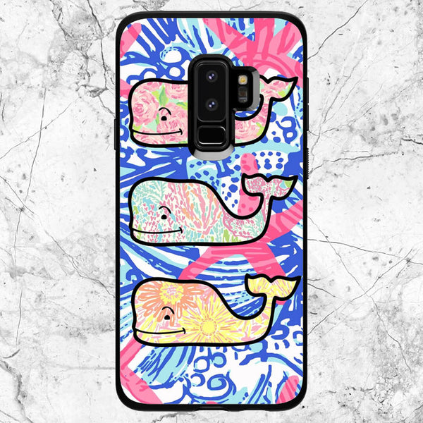 Lilly Pulitzer Vineyard Vines Whale Samsung Galaxy S9 Case | Sixtyninecase