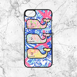 Lilly Pulitzer Vineyard Vines Whale iPhone  7 Case | Sixtyninecase