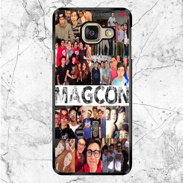 Magcon Boys Tour Collage Photos Samsung Galaxy A9 Case