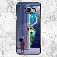 Mary Boo Mike Wazowski James P Sullivan Monster Inc Samsung Galaxy A9 Case